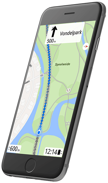 Turn-by-turn navigation